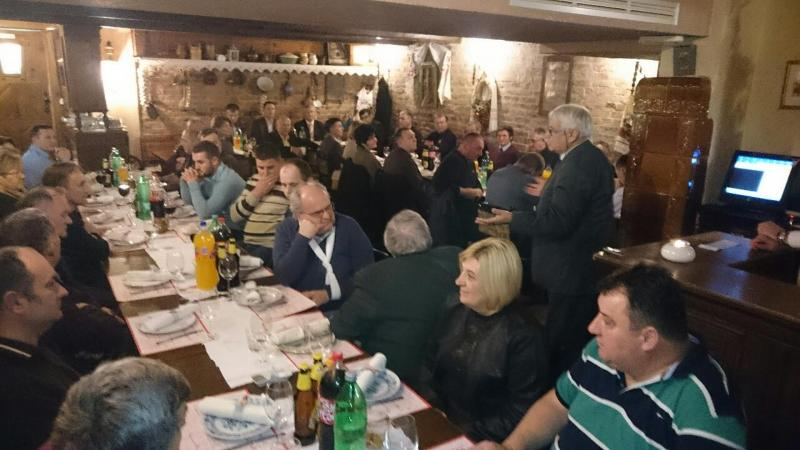 Srbi u Osječko-baranjskoj županiji dočekali Srpsku novu godinu